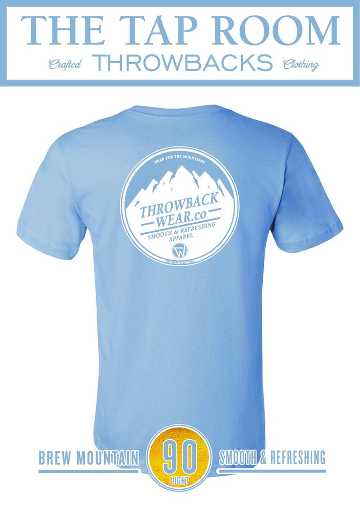 Brew Mountain 90 Light T-Shirt Throwback Wear