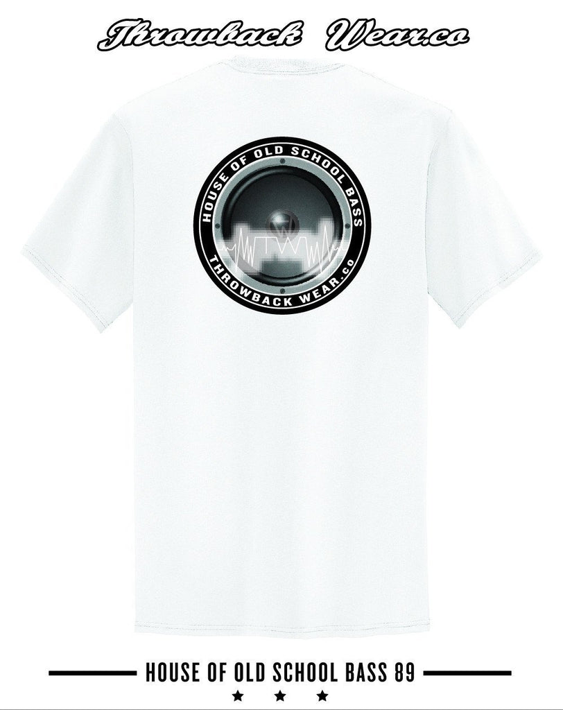 House of Old School Bass T-Shirt Throwback Wear