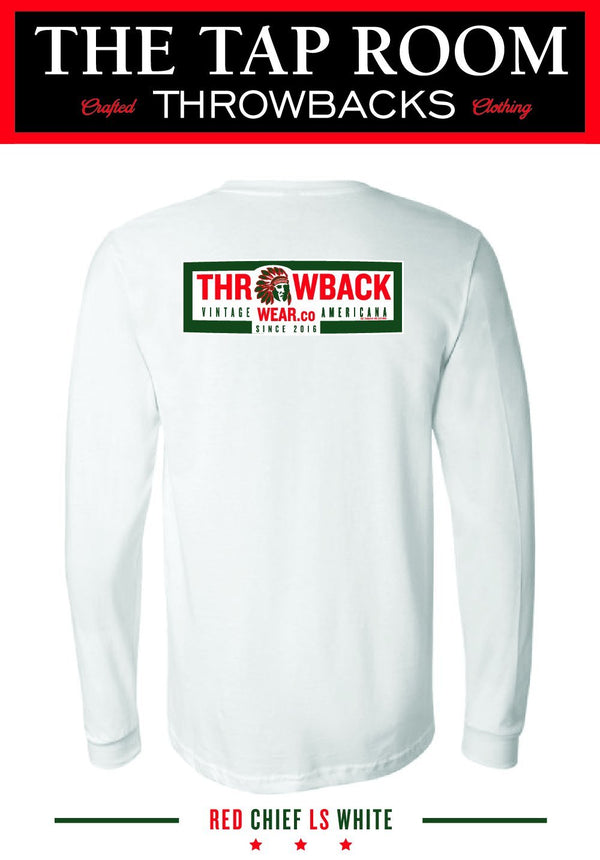 Red Chief Long Sleeve Long Sleeve Shirt Throwback Wear