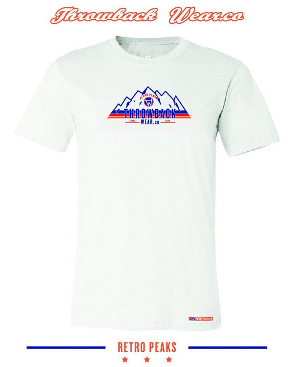 Retro Peaks T-Shirt Throwback Wear