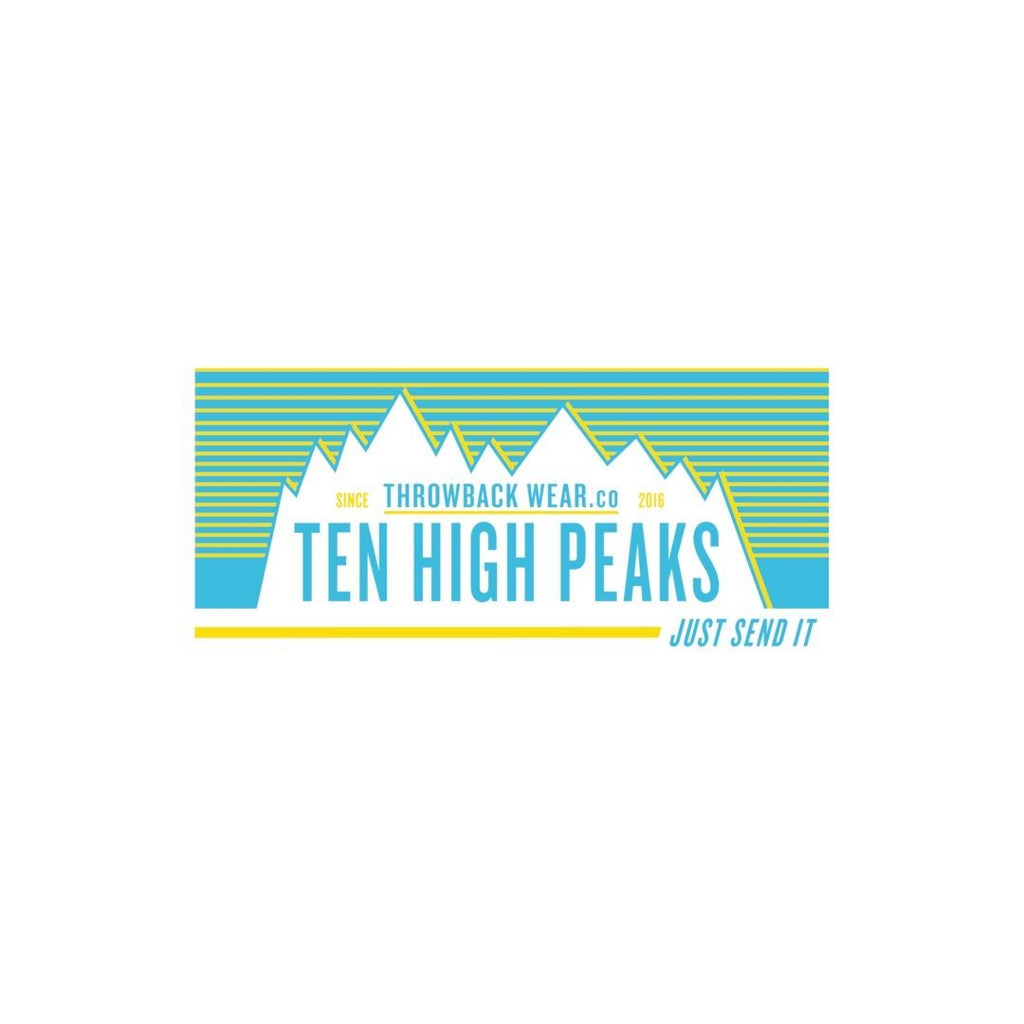 Ten High Peaks JSI Stickers Throwback Wear
