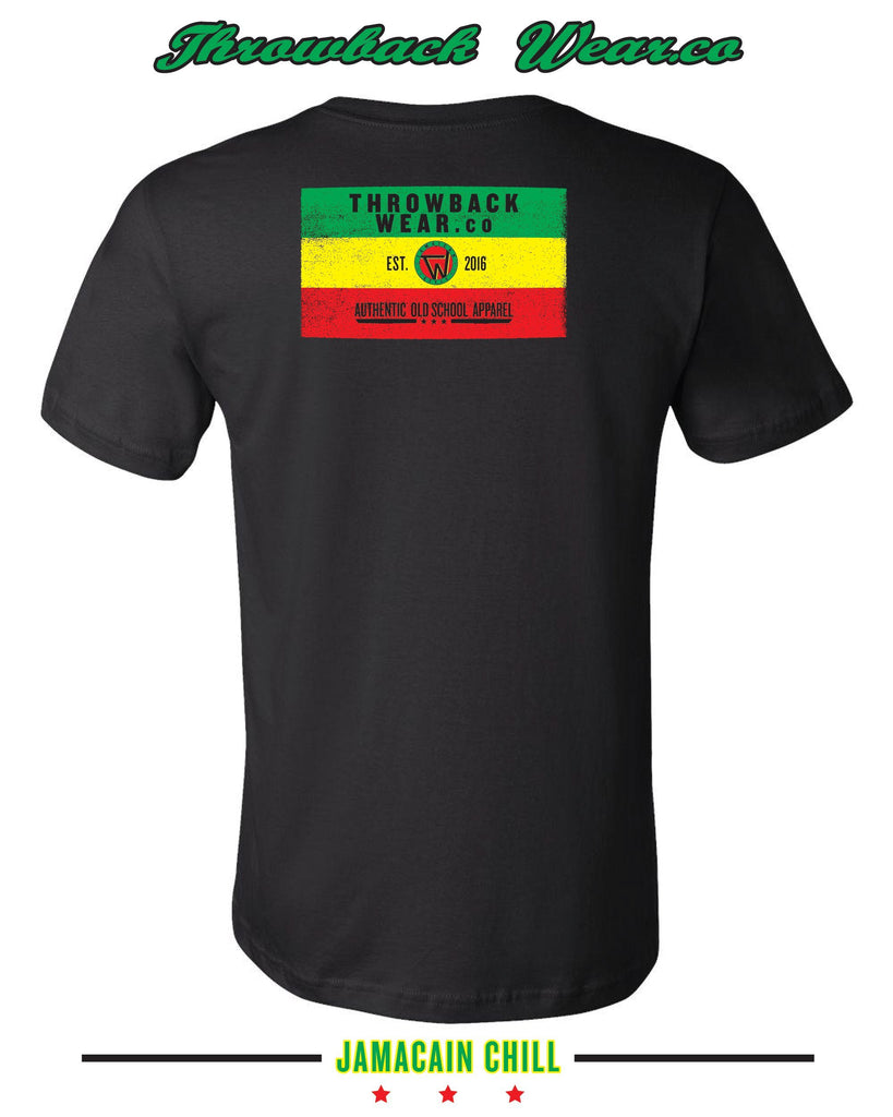 The Jamaican Chill T-Shirt Throwback Wear