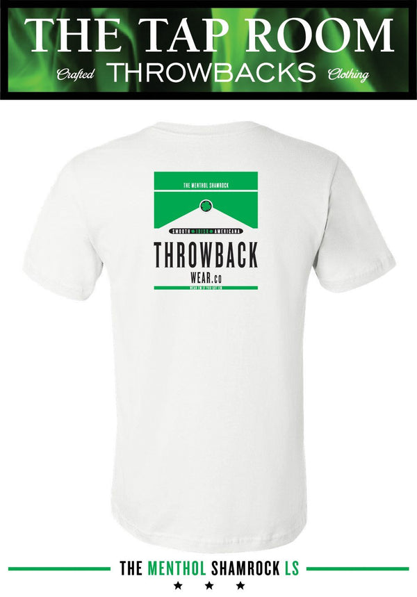 The Menthol Shamrock SS T-Shirt Throwback Wear