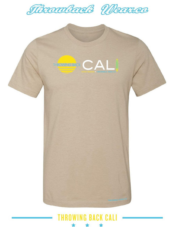 Throwing Back Cali T-Shirt Throwback Wear