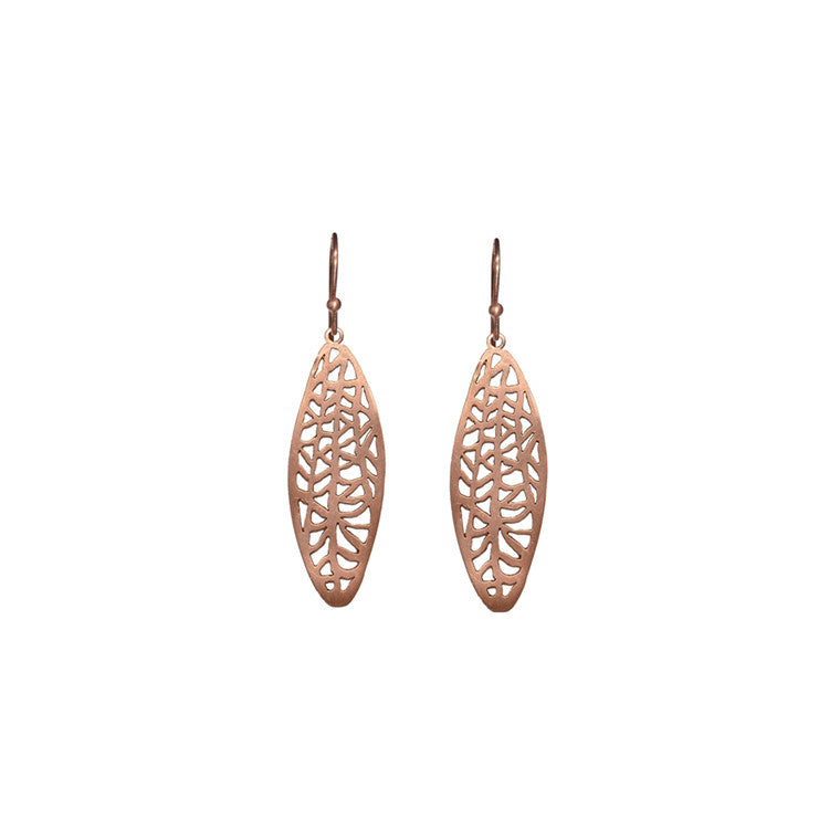 Oval Vanda Earrings