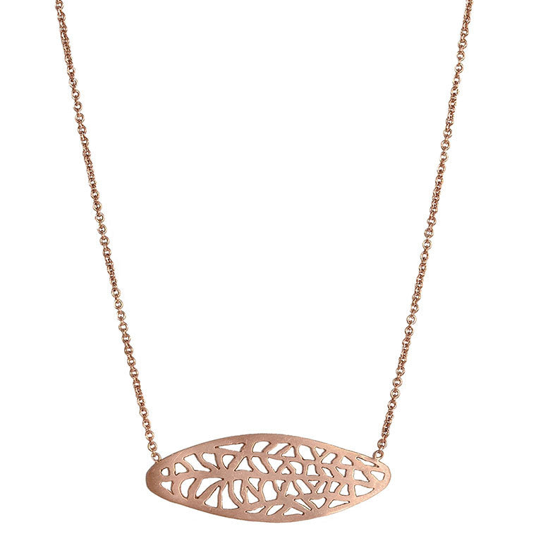 Oval Vanda Necklace
