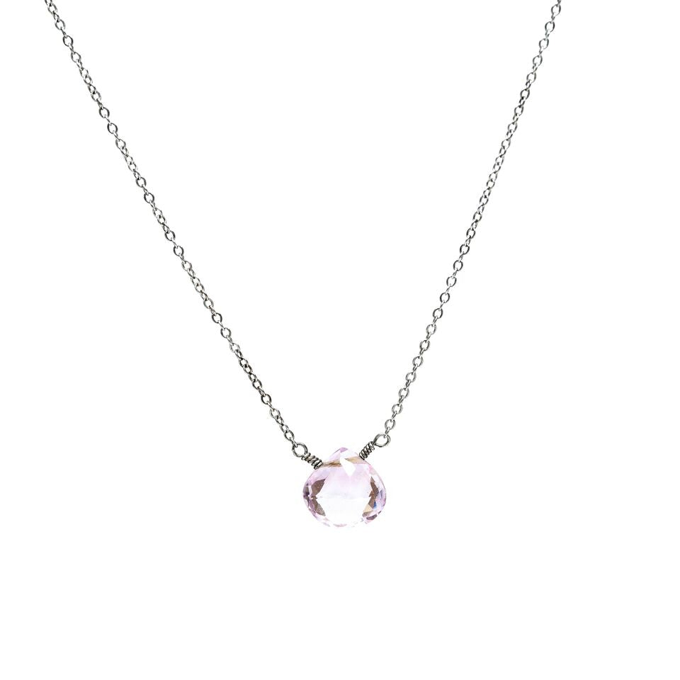 Rose Amethyst Necklace