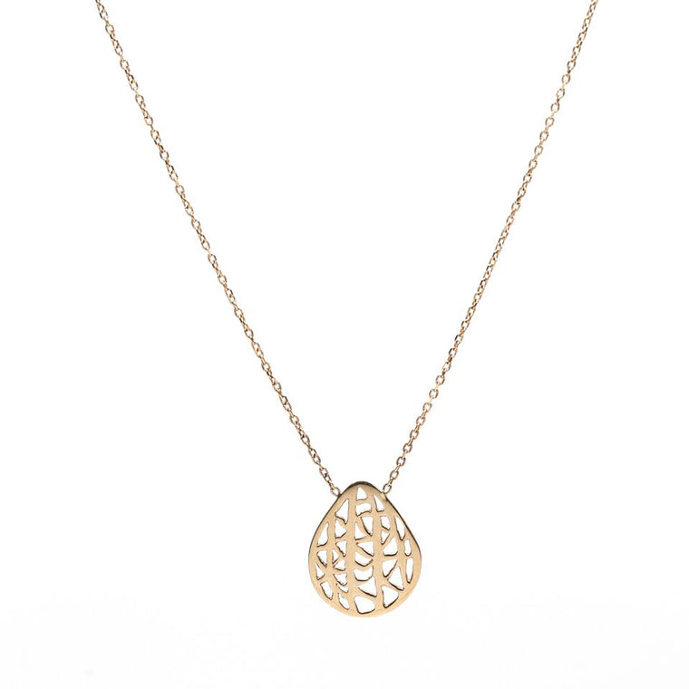 Petite Pear Vanda Necklace
