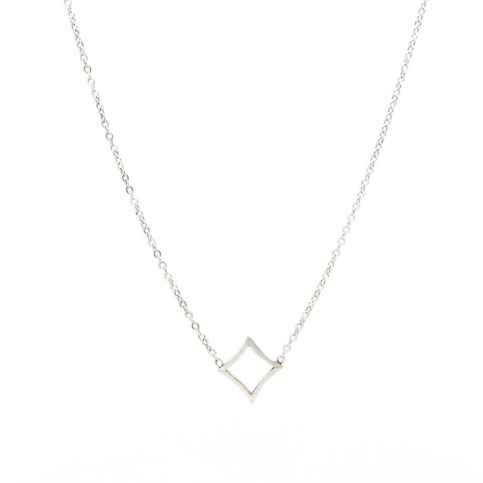 Petite Diamond Terrapin Necklace