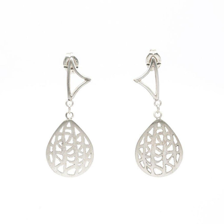 Petite Pear Drop Vanda Earrings
