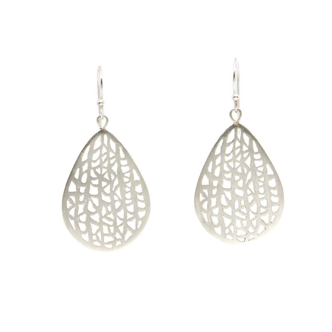 Large Pear Vanda Earrings
