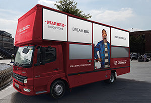 Marbek Dream Big Truck Store Mockup Left