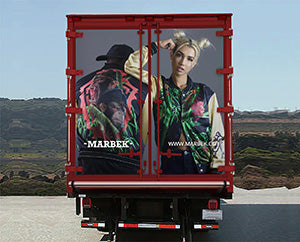 Marbek Dream Big Truck Store Mockup Rear
