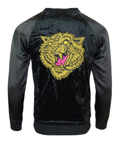 Tiger Black Souvenir Jacket