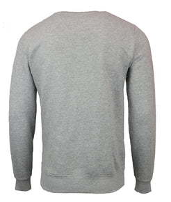 SPACE GREY M LOGO SWEATER