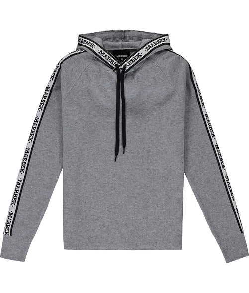 Grey Knitwear Tracksuit Top
