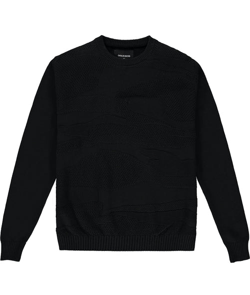 Black Neo DPM Sweater