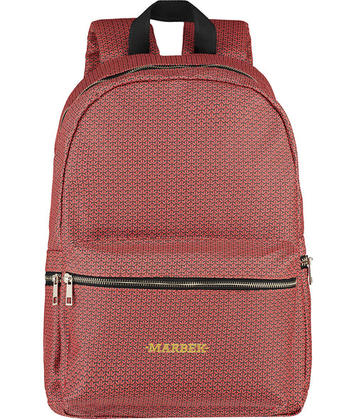 Red Monogram Backpack