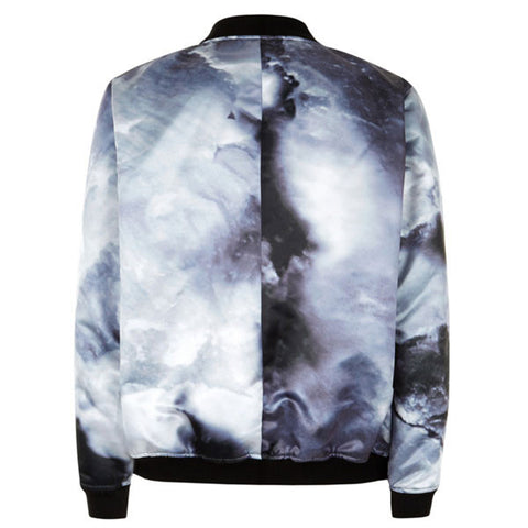Black Iceberg Bomber Jacket
