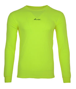 Safety yellow Long Sleeve Tee