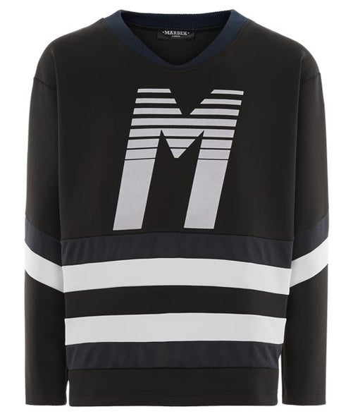 Radiation Logo Hockey Jersey - MARBEK