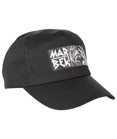 Black Monkey Print cap