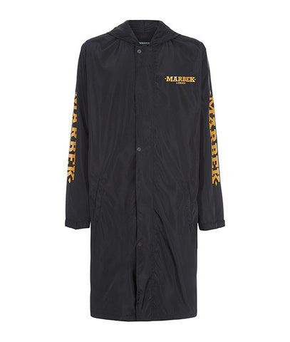 Archive Raincoat Black/Orange