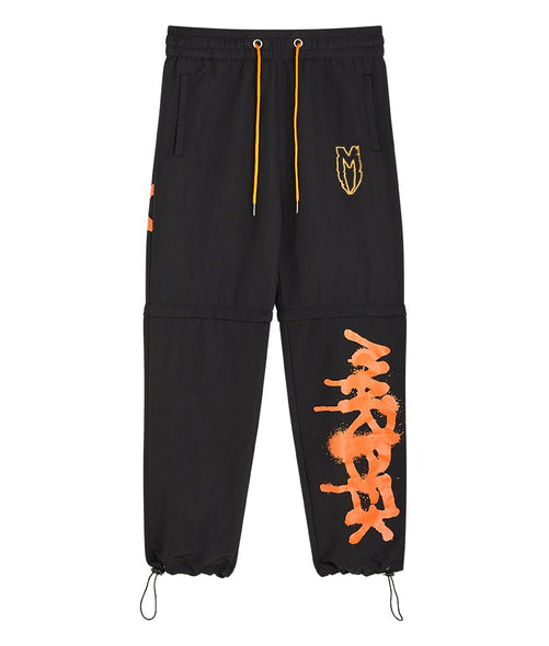 Black and Orange Graffiti Pant Marbek