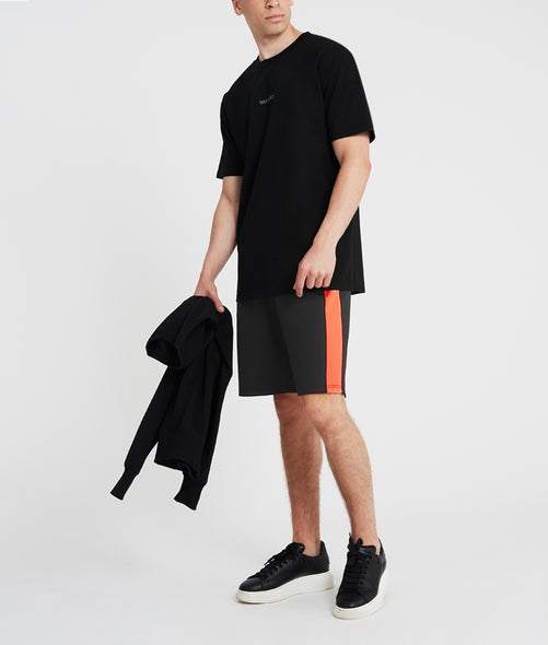 Black and orange rock Shorts