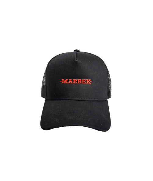 Red Embroidery Logo Cap