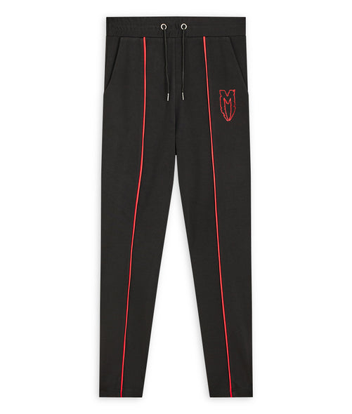 Black Logo Track Pants