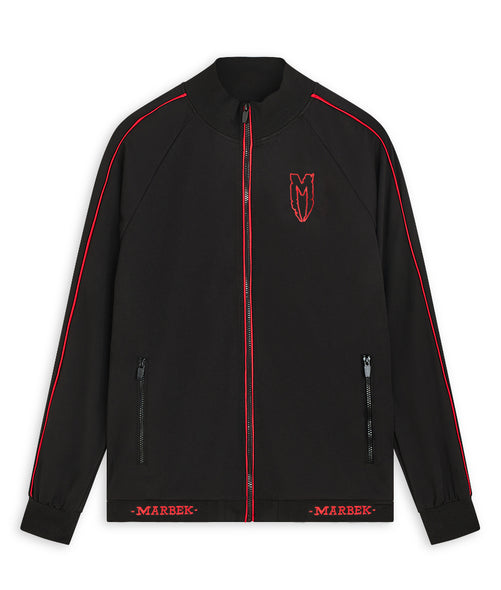 Red Logo Menace Track Top