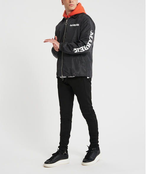 Black Archive Coach Jacket