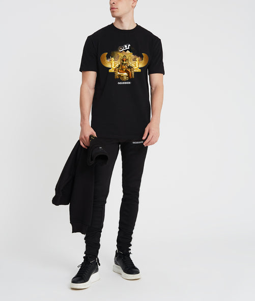Marbek x DLT T-Shirt Black/ Gold