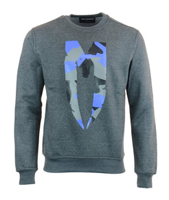 Blue M-Logo Sweatshirt