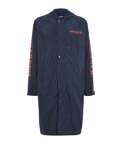 Archive Raincoat Navy Blue