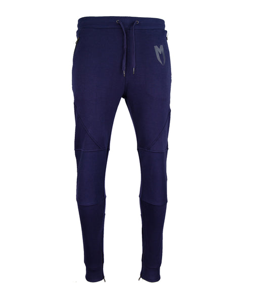 Blue M Line Tracksuit Bottoms