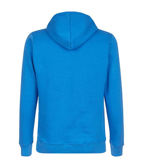 Essentials Box Logo Blue Hoodie - MARBEK