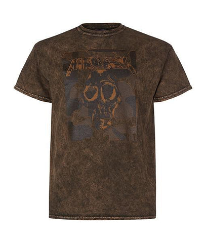 Monkey Skull Tee in Brown