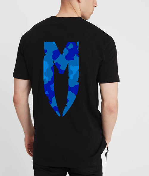 M Logo T-Shirt Blue