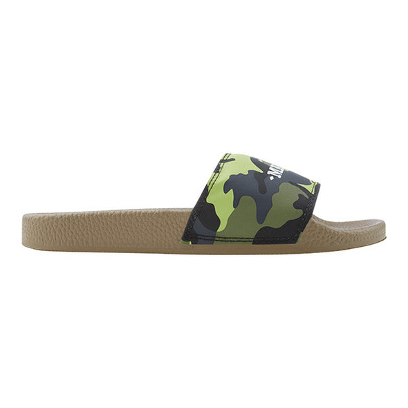 Avocado Green Camo Slider - MARBEK