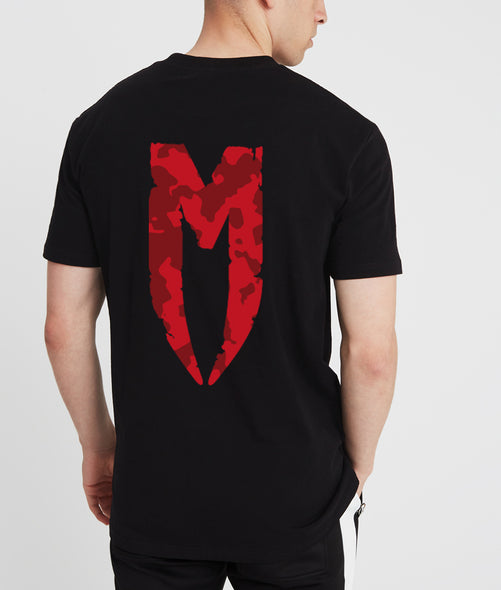 Red DPM M Logo T-Shirt