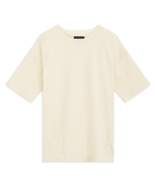 Cream Drop Shoulder T-shirt