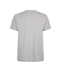 Essentials Blue Box Logo Grey Tee
