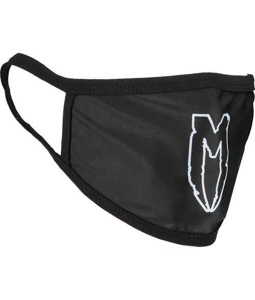 M LOGO FACE MASK WHITE
