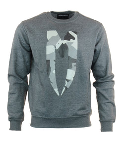 Gray M-Logo Sweatshirt