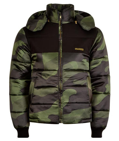 Green DPM Puffer Jacket