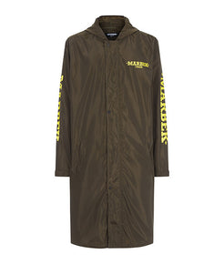 Archive Raincoat Olive Green - MARBEK