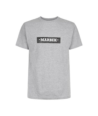 Essentials Box Logo Grey Tee