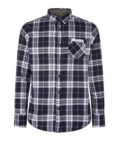 Pocket Logo Flannel Shirt